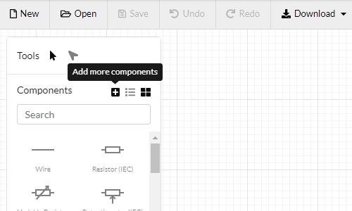 Add more components